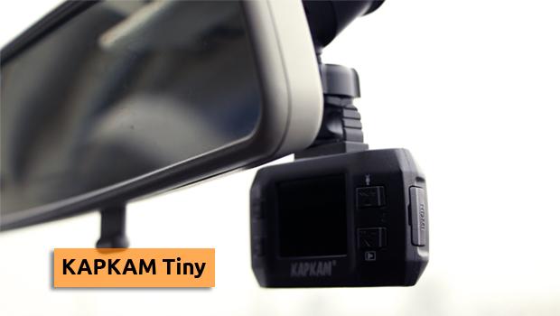Каркам Tiny видеорегистратор автомобильный за зеркалом